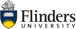flinderuni main logo black